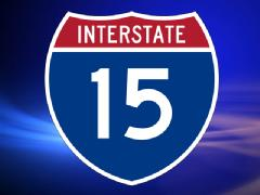 I-15 SD County Pedestrian Accident